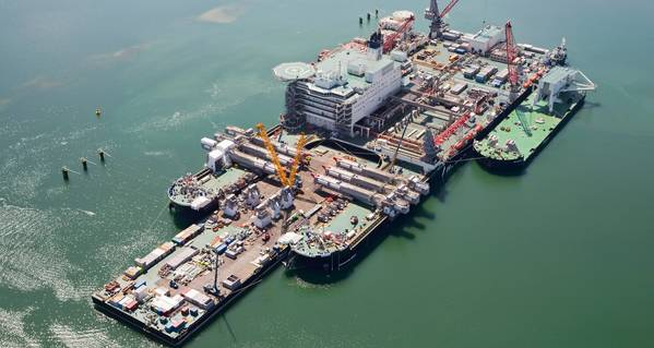Kleine schakel in het grootste schip ter wereld