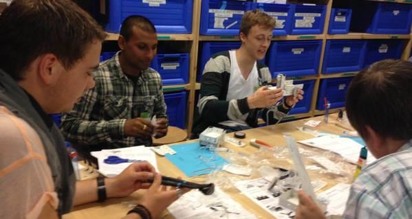 Jeugd maakt kennis met aandrijftechniek tijdens workshop Technolab